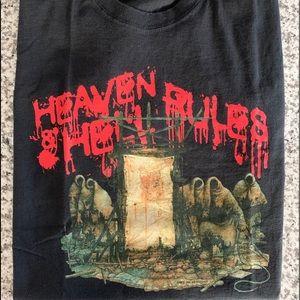 Heaven & Hell - Rules 2007 concert tour T-shirt